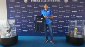 Primeira competição do FC Ska Brasil  de Santana de Parnaíba no Campeonato Paulista patrocinado pela Mondial Eletrodomésticos
