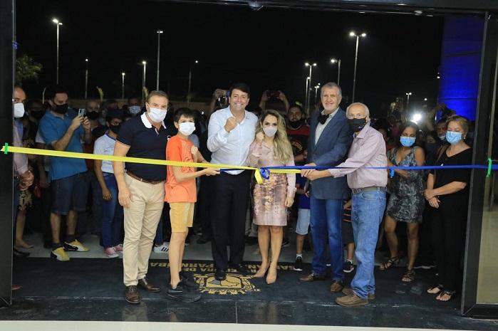 Inauguração do Centro Administrativo faixas