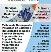 Alphaville e Tamboré: Conserto, suporte técnico e acessórios para computadores – DTM