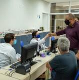 Santana de Parnaíba: Prefeito Marcos Tonho visita Farmácia Todo Dia