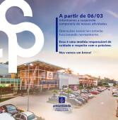 Anhanguera Parque Shopping suspende temporariamente as atividades até 19 de março