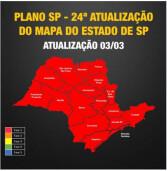 Estado de São Paulo inteiro na Fase Vermelha a partir de sábado, dia 06. Veja regras.