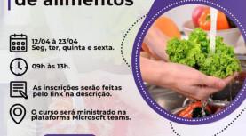 Santana de Parnaíba: Curso online gratuito de manipulação de alimentos