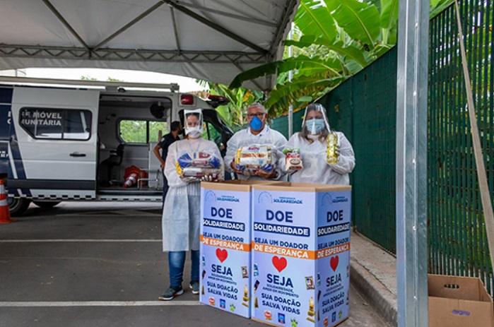 doação de alimentos na vacinação.699