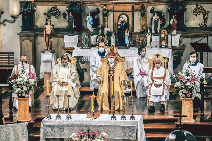 Celebração de Corpus Christi missa.699