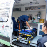 Barueri – Ambulância Semi-UTI do CEPAD realiza resgate emergencial de animais