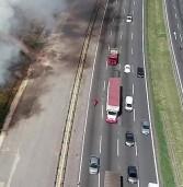 CCR ViaOeste e CCR RodoAnel registram  mais de 400 focos de incêndio em 2020