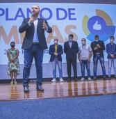 A Prefeitura de Santana de Parnaíba realizou na Arena de Eventos, o lançamento do Plano de Metas 2021/2022