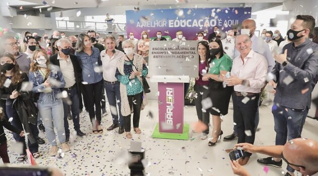 Duas reinaugurações importantes na área educacional de Barueri, EMEF Amador Aguiar e  Escola de Ensino Fundamental Estevan Placêncio