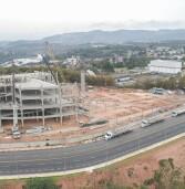 Santana de Parnaíba – Prefeito Marcos Tonho acompanha concretagem do 1º pavimento do Novo Hospital
